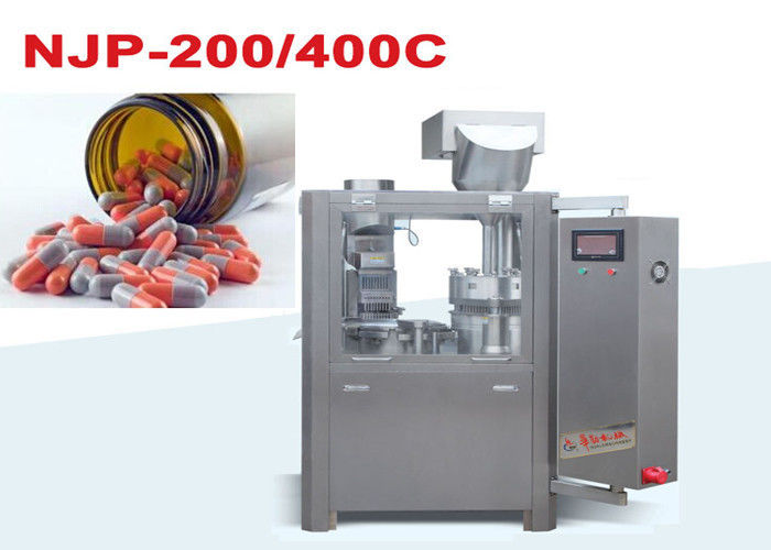 Small Capsule Filling Machine / Automatic Capsule Filler 380V/220V 50Hz 3KW