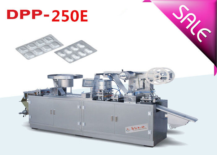 Double Alu Pharmaceutical Blister Packaging Machines Low Noise