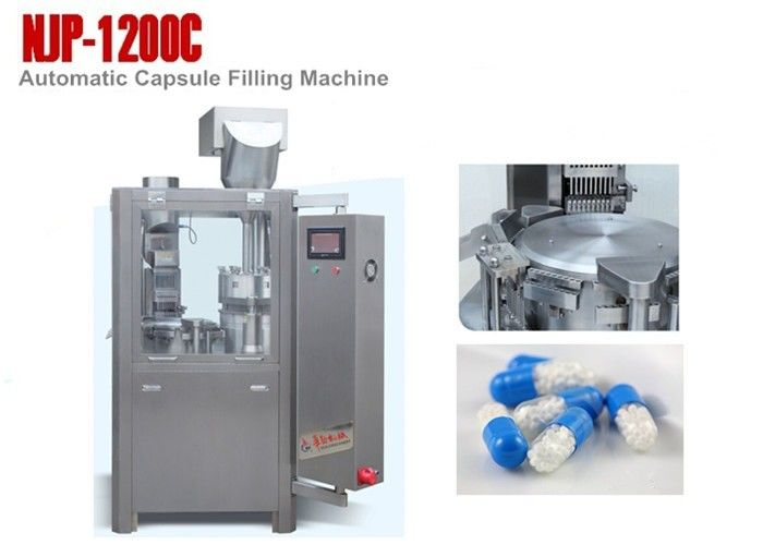 SS304 High Speed Automatic Capsule Filling Machine for Output 72000 Capsules Per Hour
