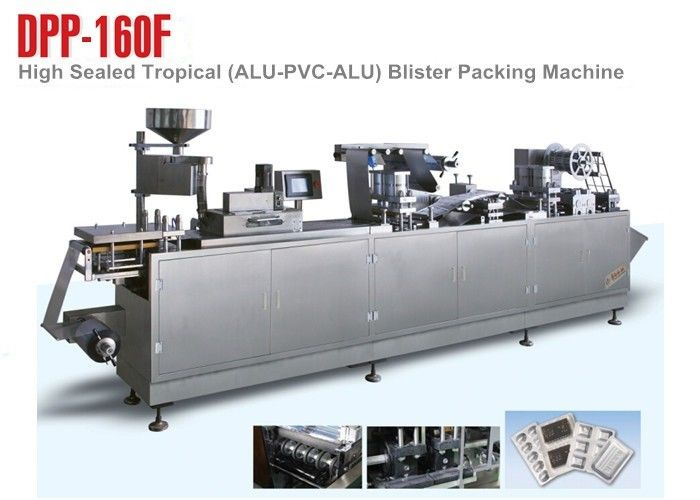 220V Small Pharmaceutical Blister Packaging Machines For High Sealing Demand